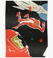 Kosmonaut Poster