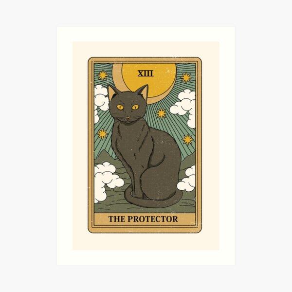 Der Beschützer Kunstdruck