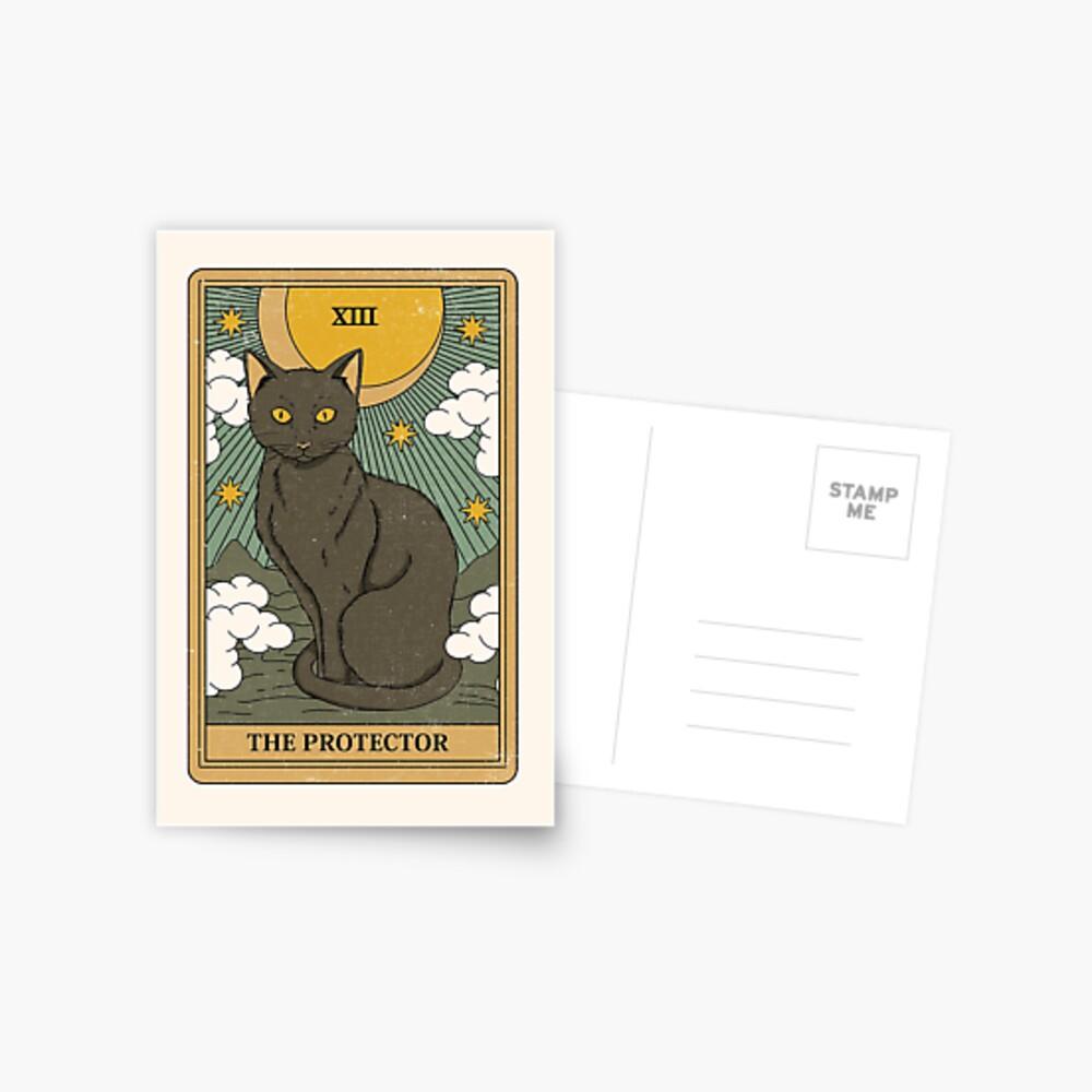 The Protector Postcard
