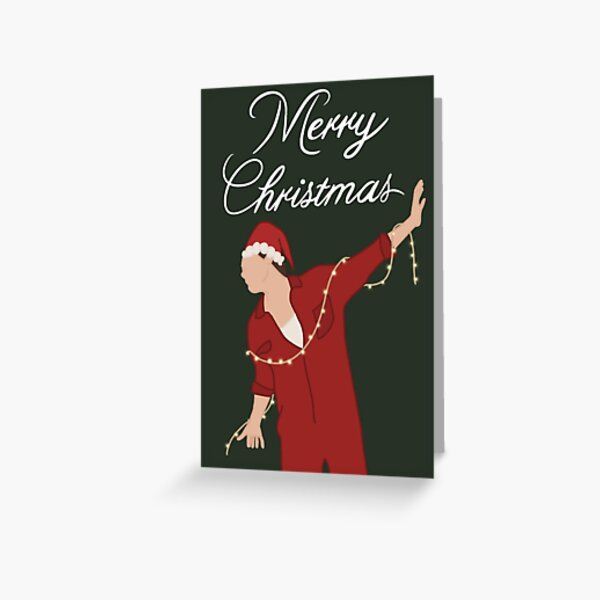 harry styles merry christmas Greeting Card