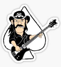 Lemmy Caricature Sticker