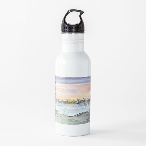 Boundary Waters Sunset Water Bottle