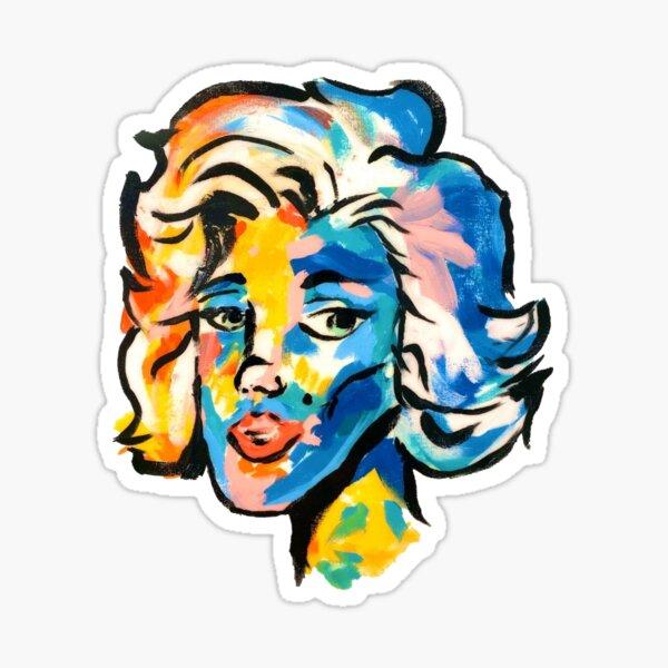 """FAST MARILYN"" Kian Lawley Gemälde (Aufkleber und mehr) HD Sticker"