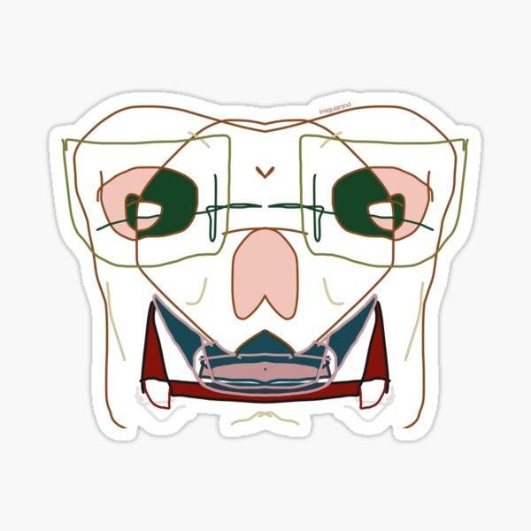 Beat up v2 Sticker