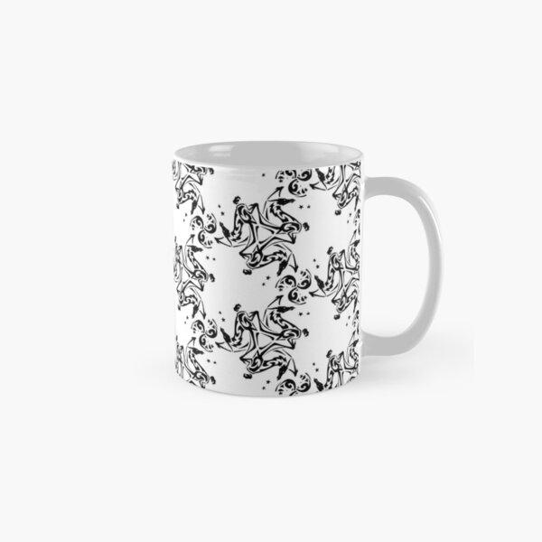 Dragon Fire Star Medallion Pattern Classic Mug