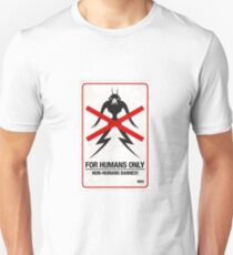 "District 9 ""For Humans Only"" T-Shirt"
