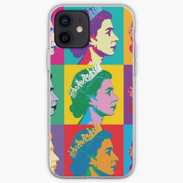 Elizabeth II x Long Live the Queen iPhone Soft Case