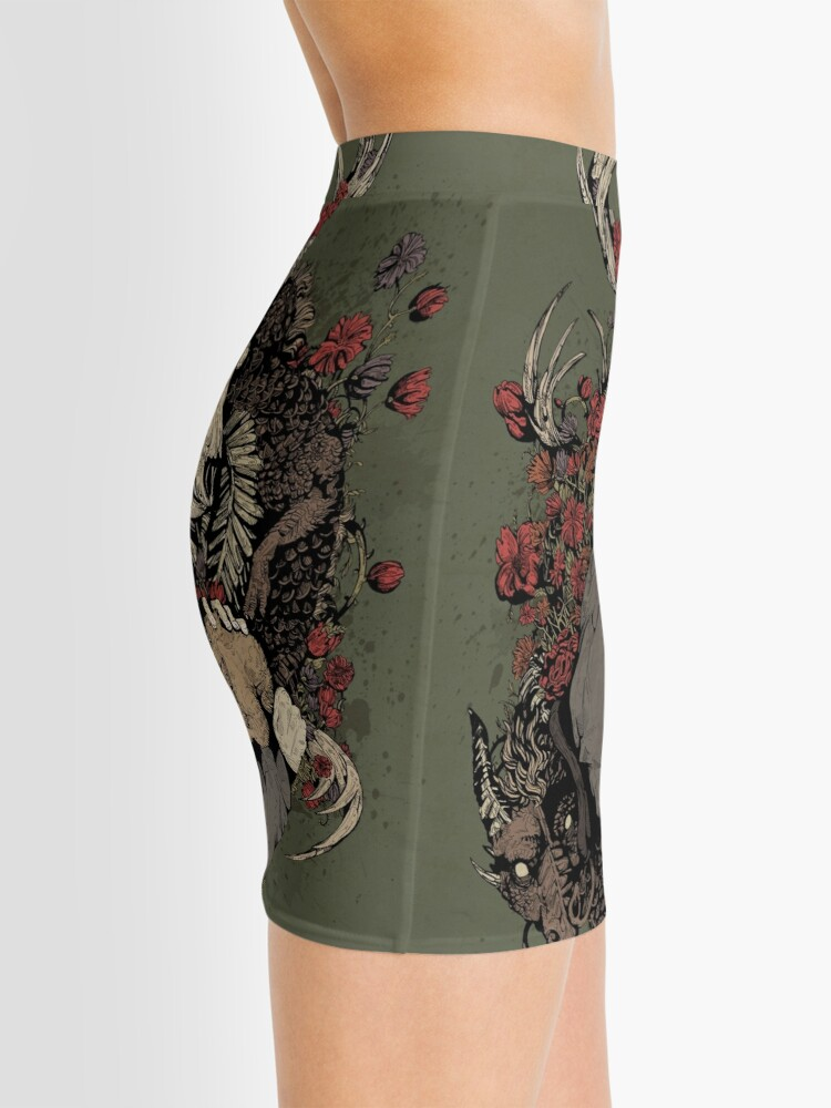 Alternate view of The Dragon's Daughter  Mini Skirt
