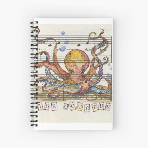 Oscar The Octopus Spiral Notebook