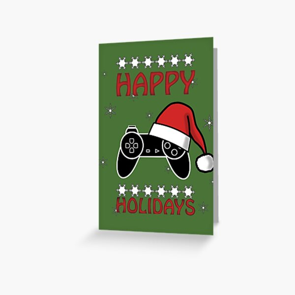 Happy Holidays Controller - Christmas T.Shirt Greeting Card