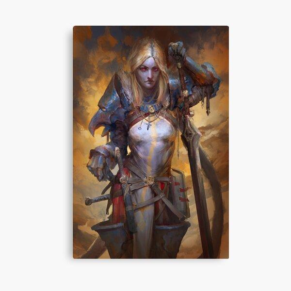 Commander Four Sword Canvas Print