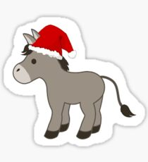 dominick the donkey sticker - Dominique The Christmas Donkey