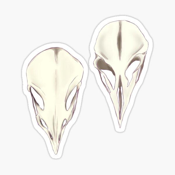 Bird Skull | Emperor Penguins Sticker