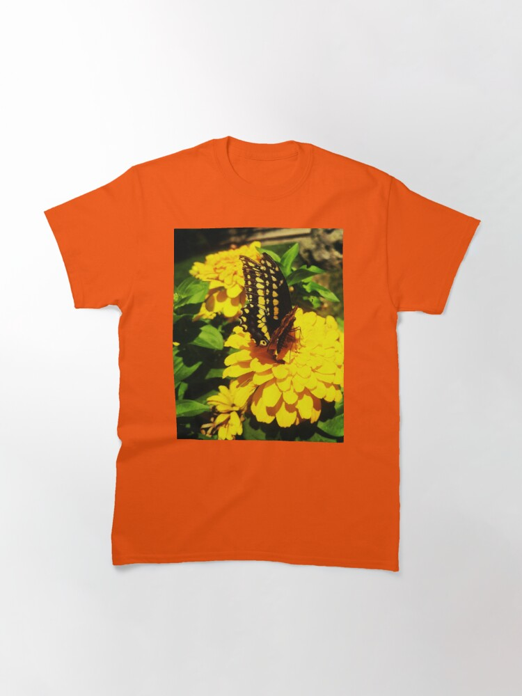 Alternate view of Yellow butterfly by Yannis Lobaina Classic T-Shirt