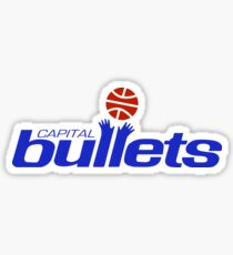 DEFUNCT -CAPITAL BULLETS Sticker
