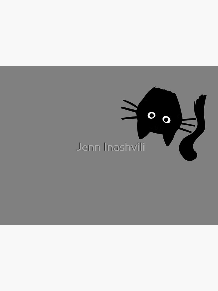 Funny Black Cat by ShortCoffee
