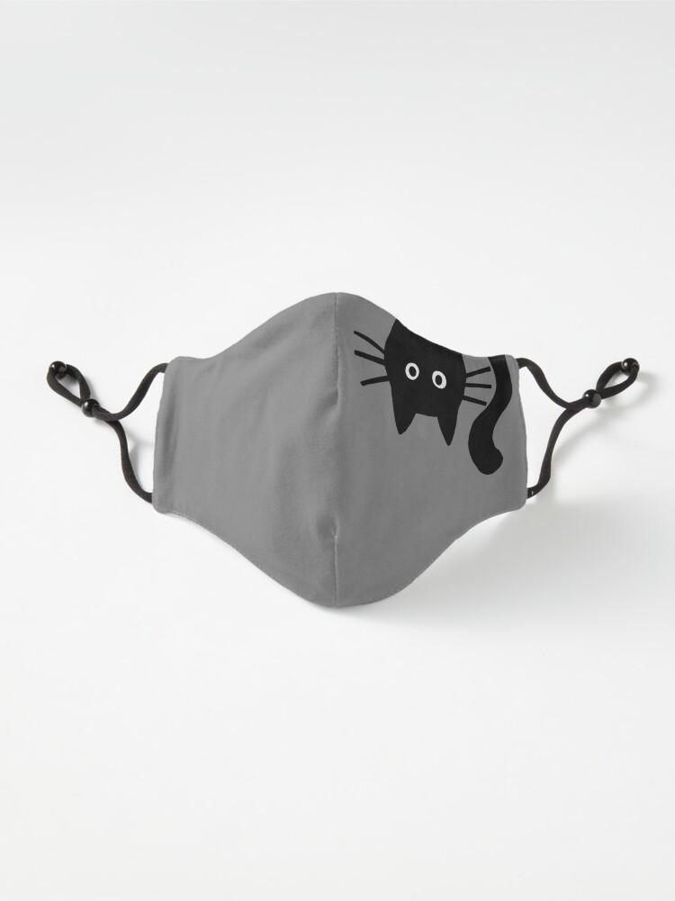 Alternate view of Funny Black Cat Mask