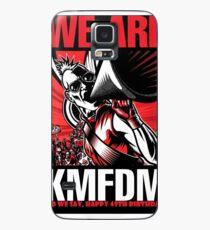 KMFDM - 49. Geburtstag / WIR SIND KMFDM Hülle & Klebefolie für Samsung Galaxy