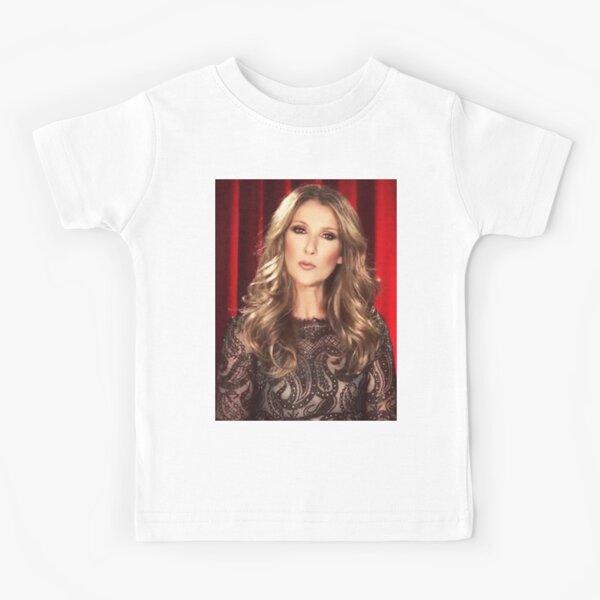 Celine Dion Schöner Modus Kinder T-Shirt
