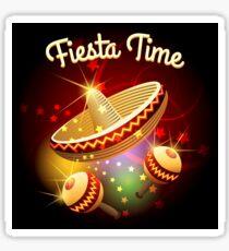 fiesta time theme Sticker