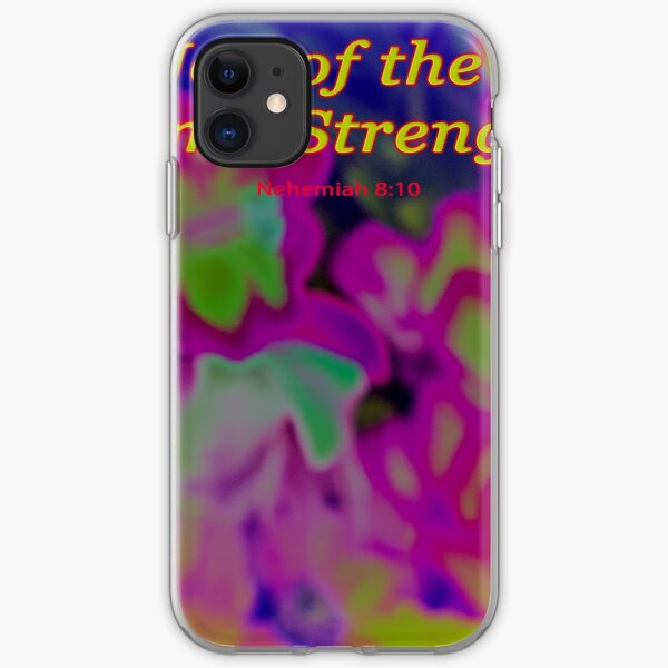 The Joy of the Lord iPhone Soft Case