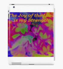 The Joy of the Lord iPad Case/Skin