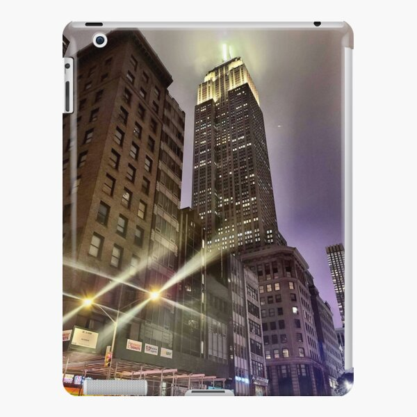 Empire State Building on a Foggy Night iPad Snap Case