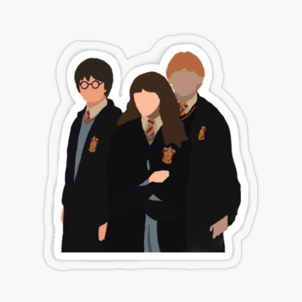 Harry best friends Transparent Sticker