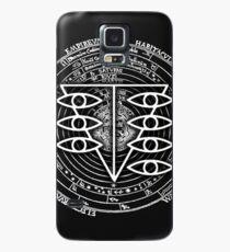 Seele Schwarz Fancy Mandala Evangelion Logo Grafik Hülle & Skin für Samsung Galaxy