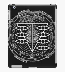 Vinilo o funda para iPad Seele Black Fancy Mandala Evangelion Logo Graphic