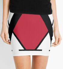 Hunter x Hunter Association Logo Graphic Merchandise Mini Skirt