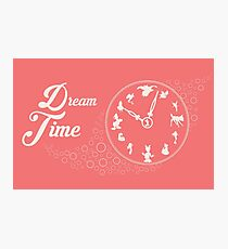 Dream time - Pink Photographic Print