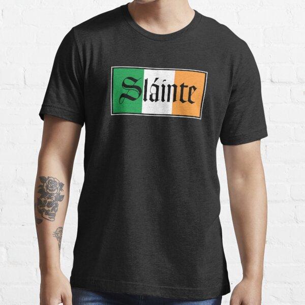 Slainte Irish Flag Essential T-Shirt
