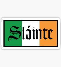 Slainte Irish Flag Sticker