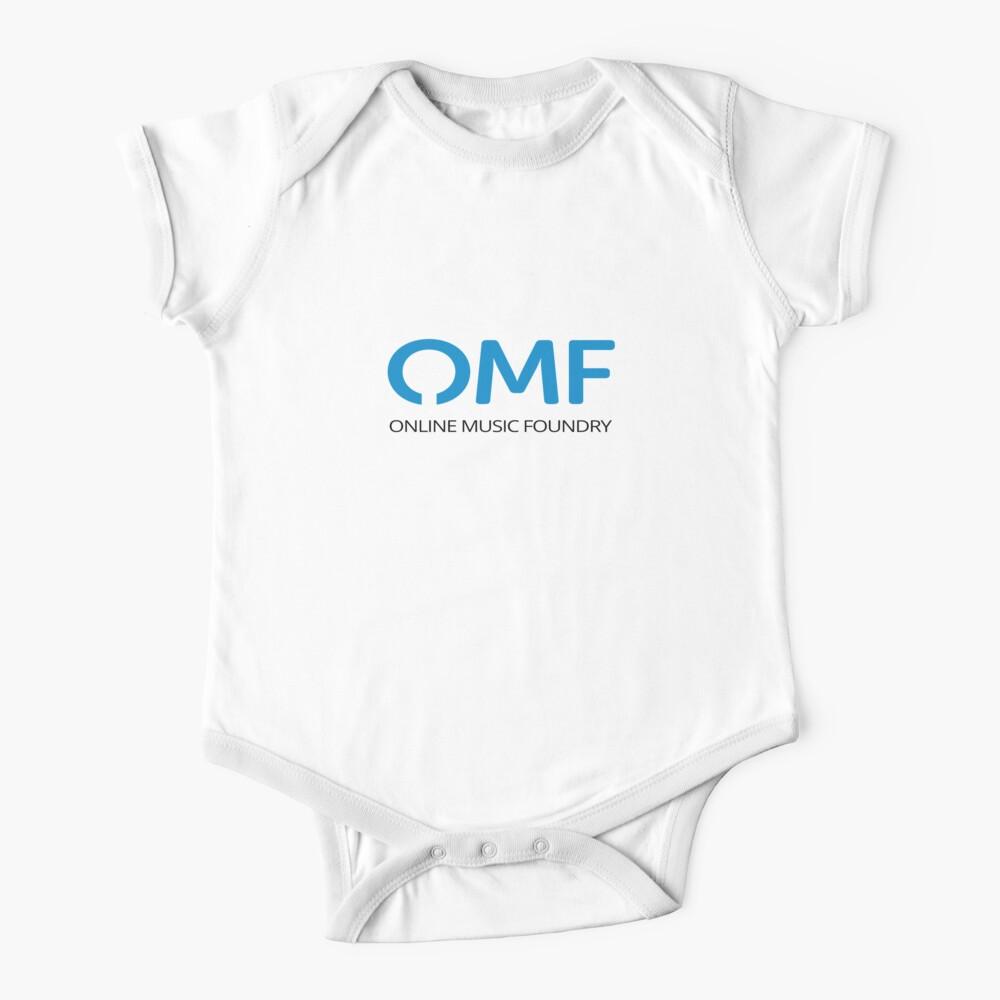 OMF (Black) Baby One-Piece