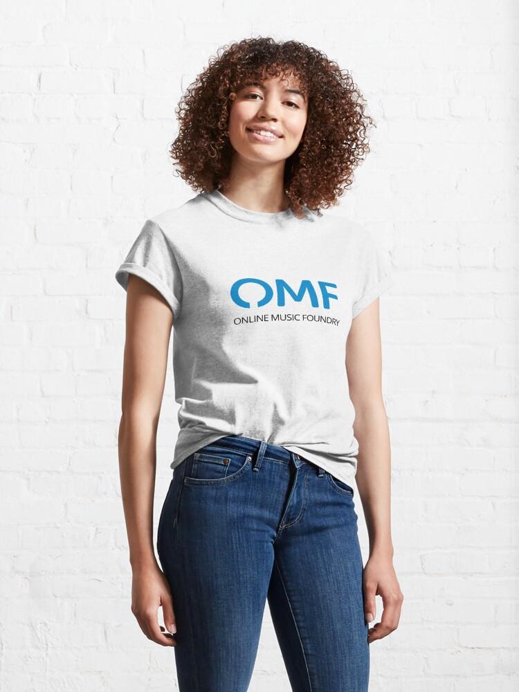 Alternate view of OMF (Black) Classic T-Shirt