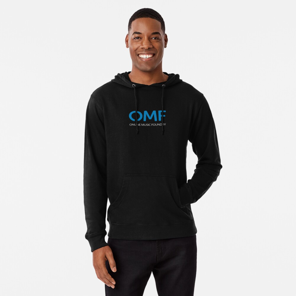 OMF (White) Lightweight Hoodie