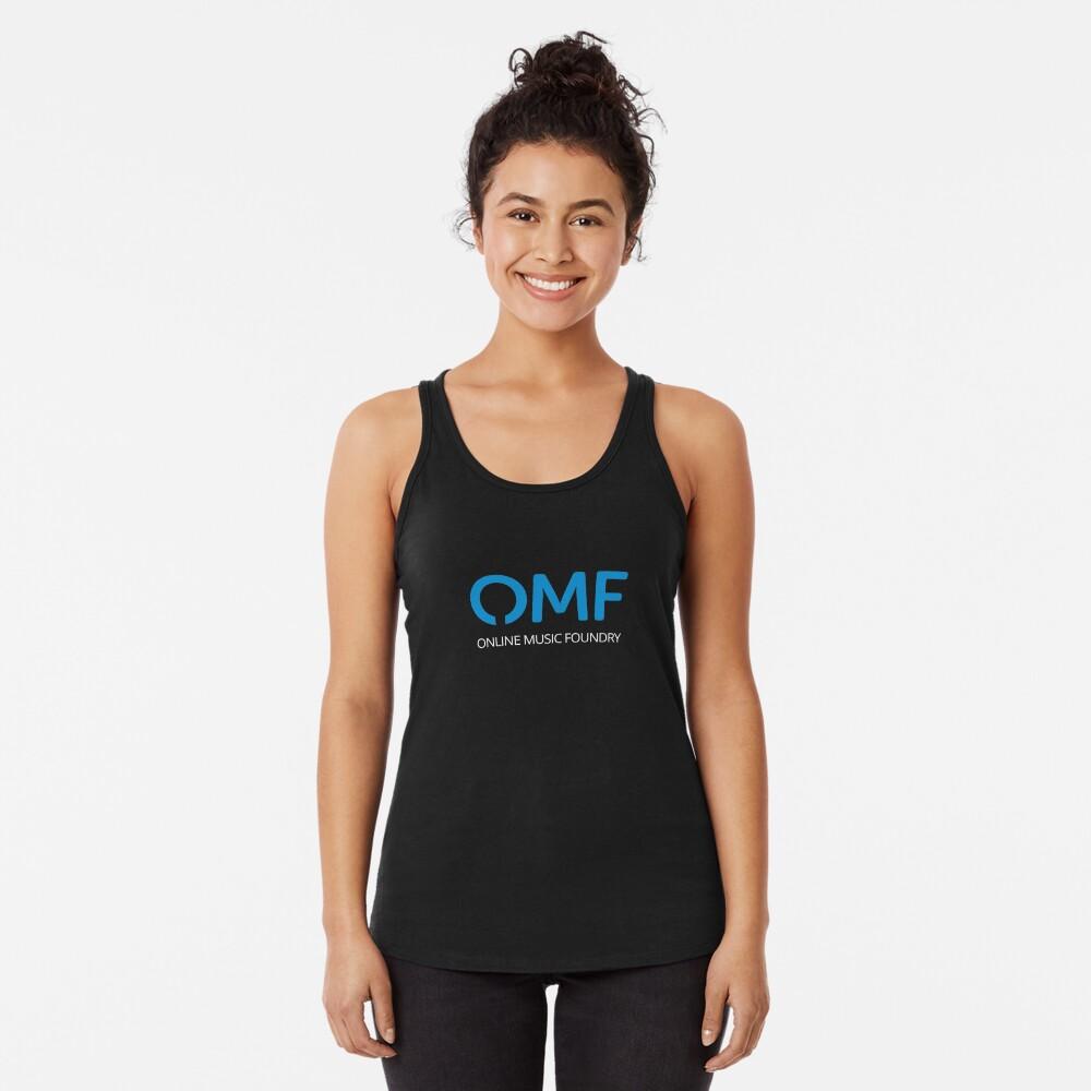 OMF (White) Racerback Tank Top