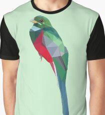 Lowpoly Narina Trogon Graphic T-Shirt