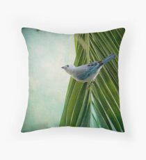 Tanager in Costa Rica Throw Pillow