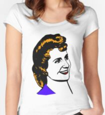 "Eva ""Evita"" Perón-2 Women's Fitted Scoop T-Shirt"