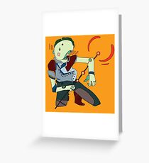 Bullet Greeting Card