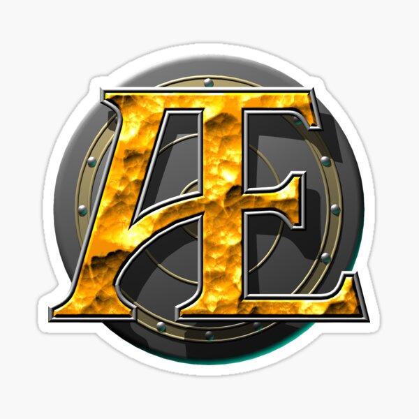 Ashen Empires Shield Logo Sticker
