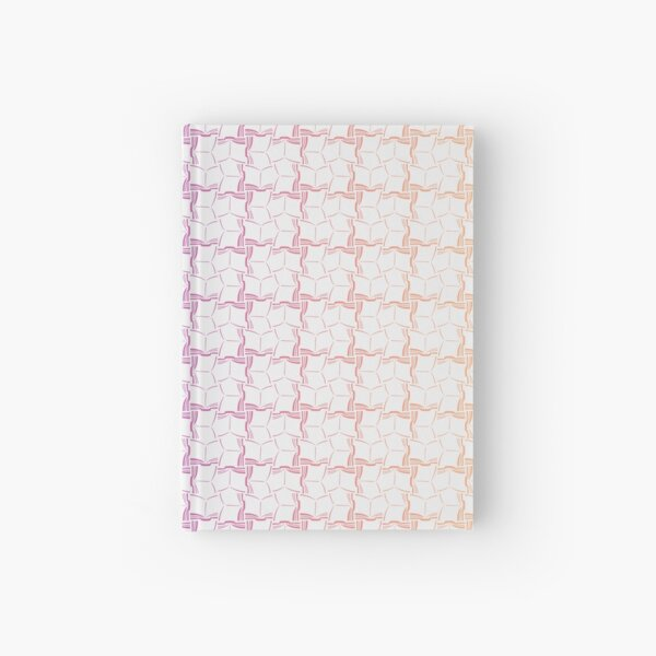 Lots of Open Books Colorful Pattern Hardcover Journal