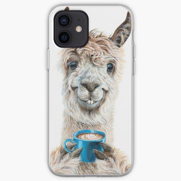 Llama Latte iPhone Soft Case