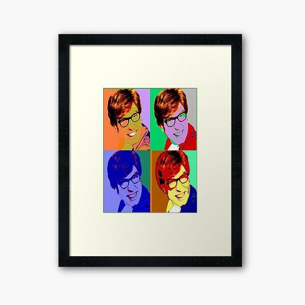 Austin Powers Poster Framed Art Print