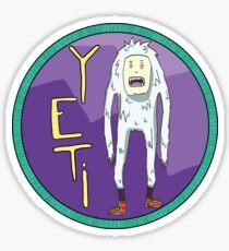 yeti sticker 2 Sticker