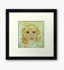 Angel Celeste Framed Print