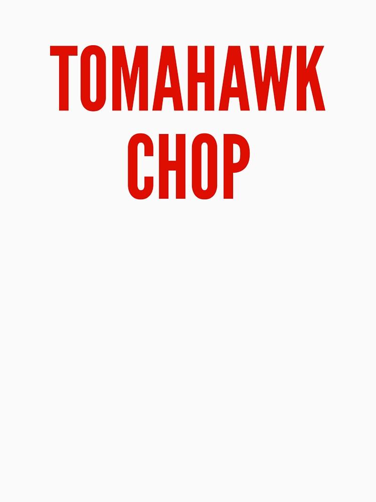 Tomahawk Chop by nyah14