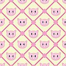 piggy quilt pattern by Shabnam Salek